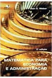 9788529400884: Matemática Para Economia E Administração (Em Portuguese do Brasil)