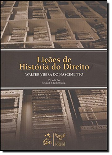 9788530920586: Lições De História Do Direito (Em Portuguese do Brasil)