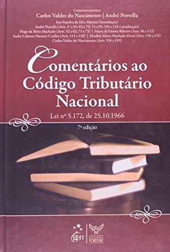 9788530924577: Comentários Ao Código Tributário Nacional