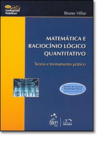 9788530930530: Matemática E Raciocínio Lógico. Teoria E Treinamento Prático (Em Portuguese do Brasil)