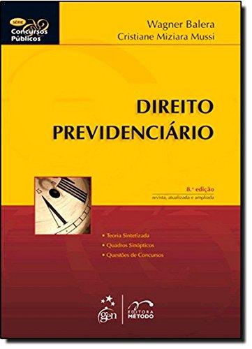 9788530935405: Direito Previdenciario - Série Concursos Públicos