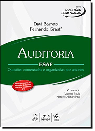 9788530935962: Auditoria - Esaf - Questoes Comentadas