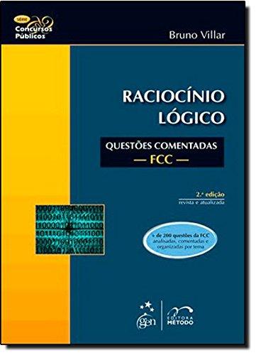 9788530936501: Raciocinio Logico. Questões Comentadas FCC (Em Portuguese do Brasil)
