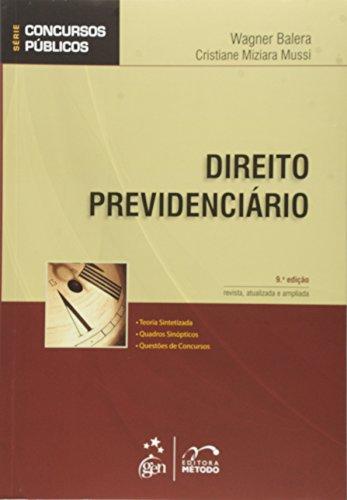 9788530941482: Direito Previdenciario - Série Concursos Públicos