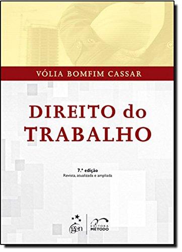 9788530944414: Direito do Trabalho (Em Portuguese do Brasil)