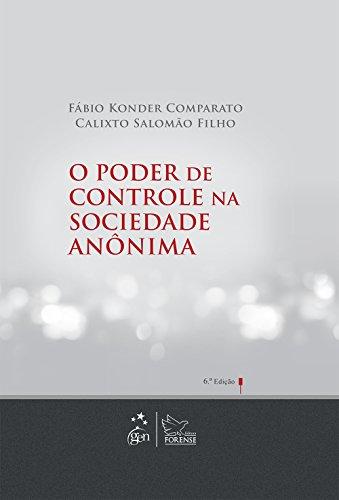 9788530945848: O Poder de Controle Na Sociedade Anônima (Em Portuguese do Brasil)