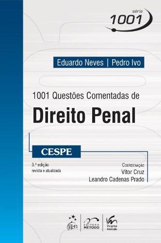 9788530951900: 1001 Questoes Comentadas de Direito Penal - Cespe - Serie 1001