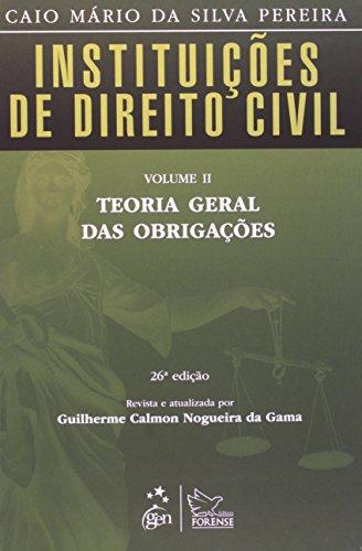 9788530952068: Instituições de Direito Civil. Teoria Geral das Obrigações - Volume 2 (Em Portuguese do Brasil)