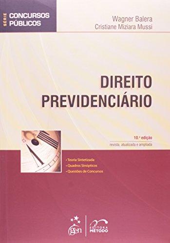 9788530952693: Direito Previdenciário - Série Concursos Públicos