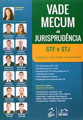 9788530955304: Vade Mecum de Jurisprudencia Stf e Stj: Julgados Relevantes Comentados