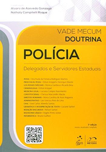 9788530955762: Vade Mecum Doutrina. Polícia. Delegados e Servidores Estaduais (Em Portuguese do Brasil)