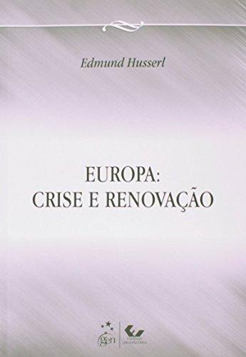 9788530958268: Europa. Crise e Renovação (Em Portuguese do Brasil)