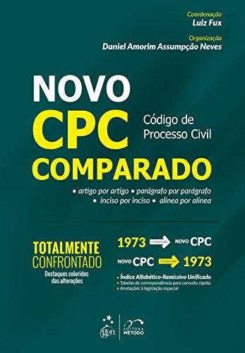 9788530958435: Novo CPC. Código do Processo Civil Comparado (Em Portuguese do Brasil)