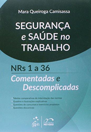 9788530958824: Segurança e Saúde no Trabalho. Números 1 a 36. Comentadas e Descomplicadas (Em Portuguese do Brasil)