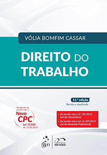 9788530962043: Direito do Trabalho (Em Portuguese do Brasil)
