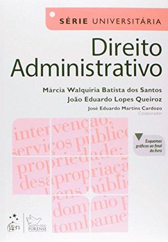 9788530962418: Direito Administrativo - Serie Universitaria