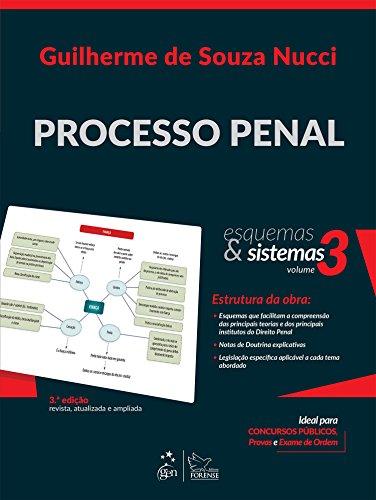 9788530962500: Processo Penal - Vol.3 - Colecao Esquemas e Sistemas