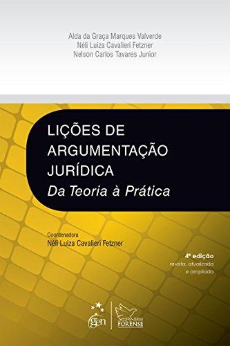 9788530964764: Licoes da Argumentacao Juridica: Da Teoria a Pratica