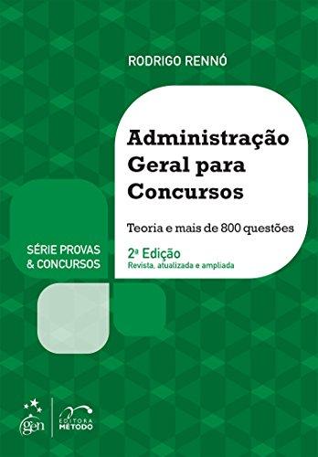 9788530965372: Administração Geral Para Concursos - Série Provas & Concursos (Em Portuguese do Brasil)