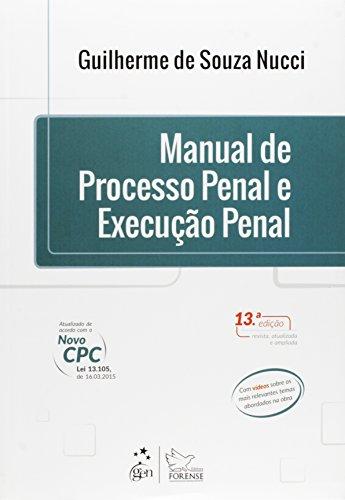 9788530967000: Manual De Processo Penal E Execução Penal (Em Portuguese do Brasil)