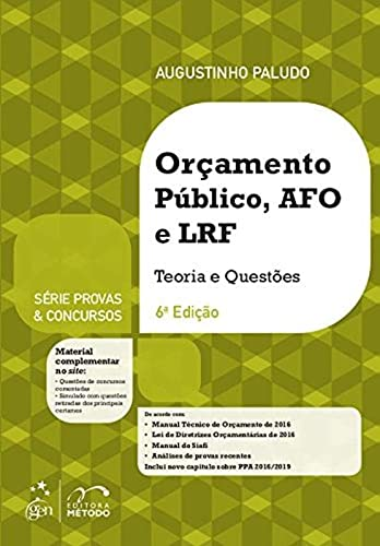 9788530970642: Orcamento Publico, Afo e Lrf: Teoria e Questoes - Serie Provas e Concursos