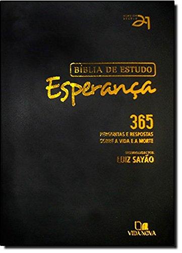 9788531103629: Bíblia de Estudo Esperança - Luxo Preta