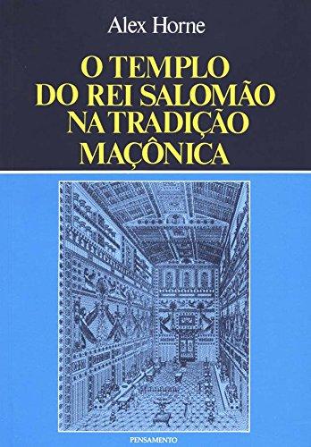 9788531506635: Templo Do Rei Salomao Na Tradicao Maconica (Em Portuguese do Brasil)