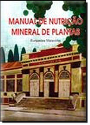 9788531800474: Manual de Nutrição Mineral de Plantas (Em Portuguese do Brasil)