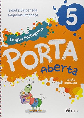 9788532297976: Porta Aberta. Língua Portuguesa. 5º Ano