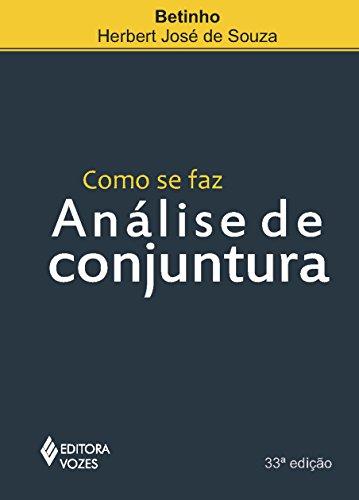 9788532600912: Como Se Faz Análise de Conjuntura (Em Portuguese do Brasil)