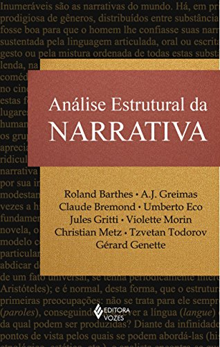 9788532636690: Analise Estrutural da Narrativa