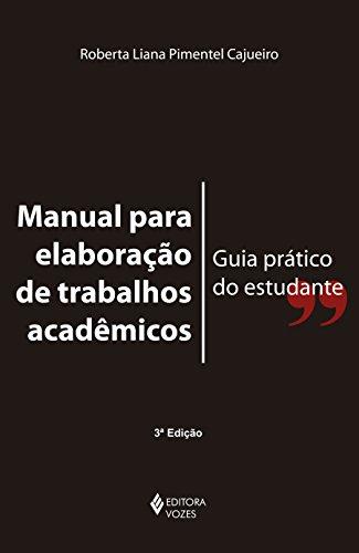 9788532643544: Manual Para Elabora‹o de Trabalhos Acadmicos Guia Pr‡tico do Estudante