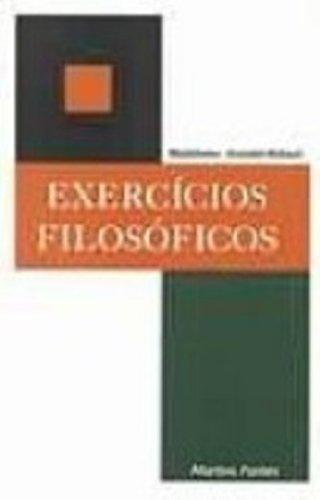 9788533612051: Exercícios Filosoficos (Em Portuguese do Brasil)