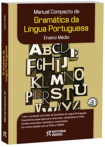 9788533915664: Manual Compacto de Gramatica - Lingua Portuguesa e Ensino Medio