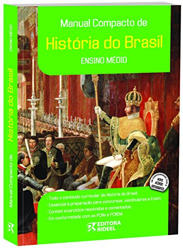 9788533916012: Manual Compacto de Historia do Brasil - Ensino Medio