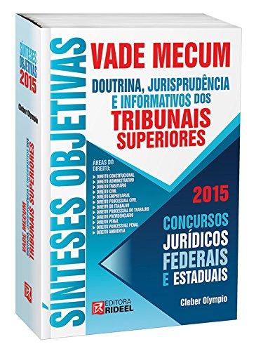 9788533929074: Vade Mecum. Sínteses Objetivas. Doutrina, Jurisprudência e Informativos dos Tribunais Superiores