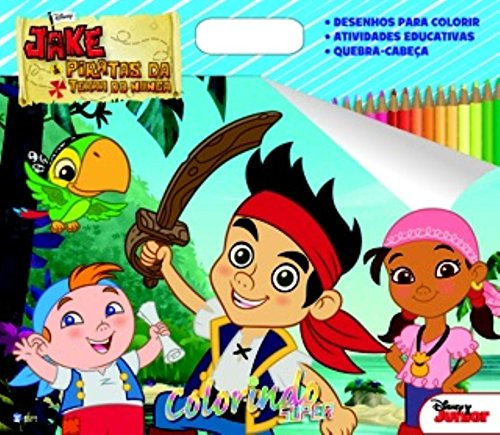 9788533936454: Jake e os Piratas - Cole��o Disney Super Colorindo (Em Portuguese do Brasil)