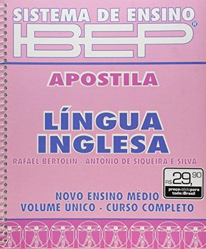 9788534208055: Sistema de Ensino IBEP. Apostila. Língua Inglesa - Volume Único (Em Portuguese do Brasil)