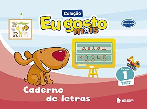 9788534245326: Eu Gosto Mais. Caderno de Letras - Volume 1 (Em Portuguese do Brasil)