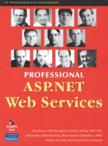 9788534614795: Profissional Asp.NET Web Services (Em Portuguese do Brasil)