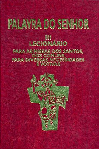 9788534909839: Lecionário Santoral - Volume III (Em Portuguese do Brasil)