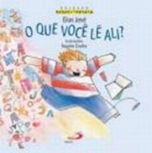 9788534925365: O Que Você Lê Ali? (Em Portuguese do Brasil)