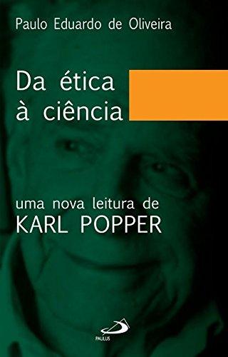 Da ética à ciência. Uma nova leitura: Oliveira, Paulo Eduardo
