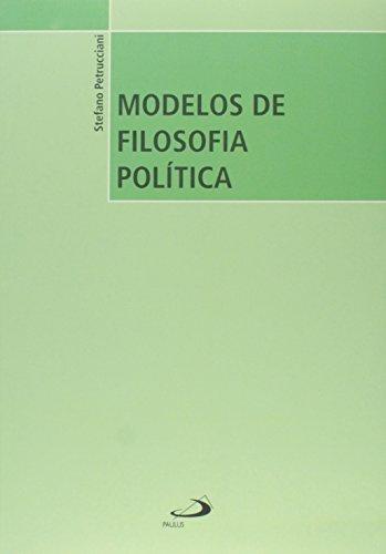 9788534940009: Modelos de Filosofia Política (Em Portuguese do Brasil)