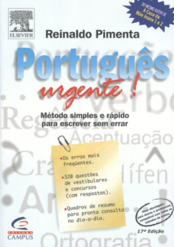 9788535202984: Português Urgente!: Método Simples e Rápido para Escrever Sem Errar