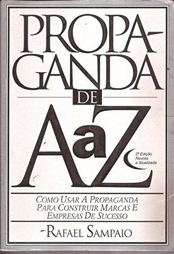 9788535204490: Propaganda De AaZ