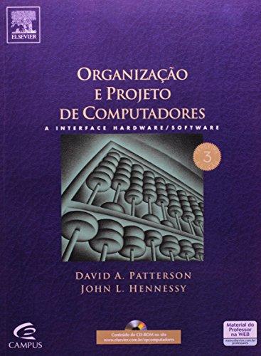9788535215212: Organização E Projeto De Computadores (Em Portuguese do Brasil)