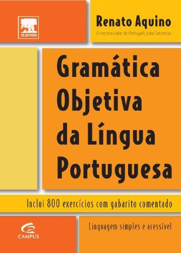 9788535223415: Gramática Objetiva da Língua Portuguesa (Em Portuguese do Brasil)