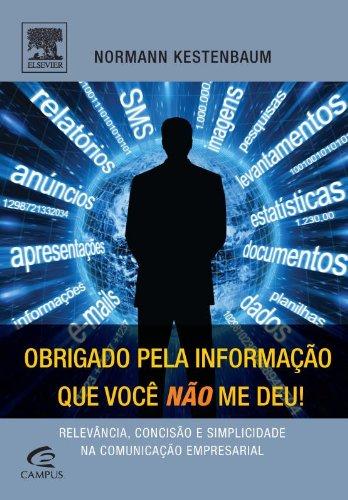 9788535227321: Obrigado Pela Informacao Que Voce Nao Me Deu! (Em Portugues do Brasil)