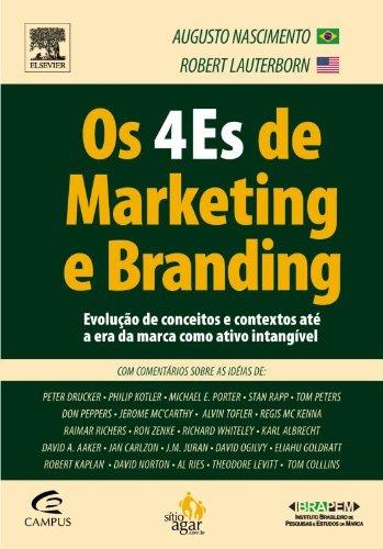 9788535227475: Os 4 Es De Marketing E Branding. Com Comentários Sobre As Ideias (Em Portuguese do Brasil)